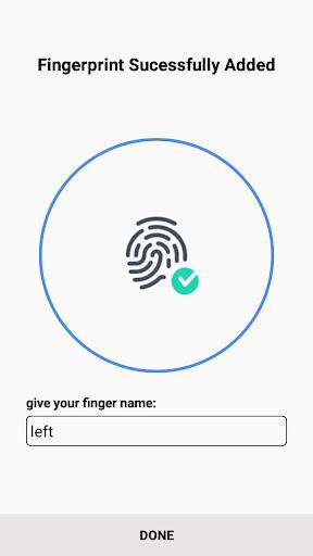 Samsung Fingerprint 1.0.3 screenshots 1