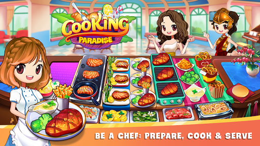 Cooking Paradise: Chef & Restaurant Game  screenshots 1