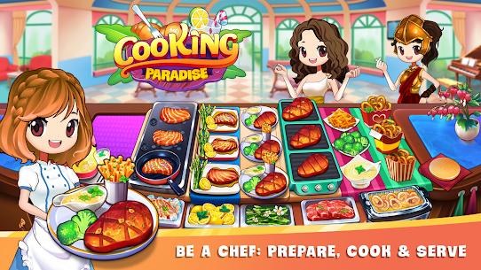 طبخ الجنة: لعبة الشيف والمطعم 1