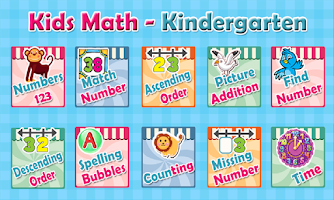 Kids Math - Kindergarten