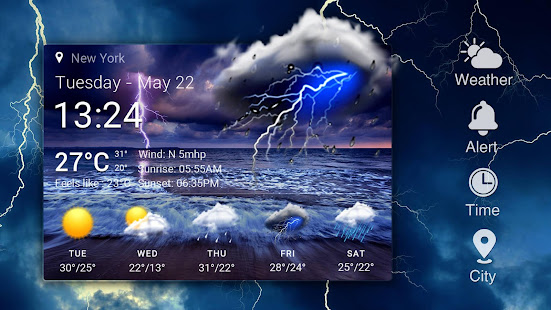 Real-time weather forecasts 16.6.0.6365_50185 Screenshots 8