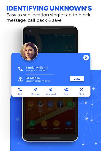 Caller ID Name Locator & Tracker, Spam blocking apktram screenshots 5