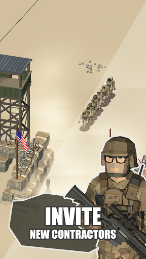 Idle Warzone 3d: Military Game - Army Tycoon 1.2.3 screenshots 5