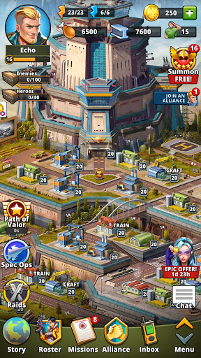 Puzzle Combat: Match-3 RPG android2mod screenshots 7