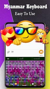 Myanmar Keyboard 2020: Zawgyi Language typing 5