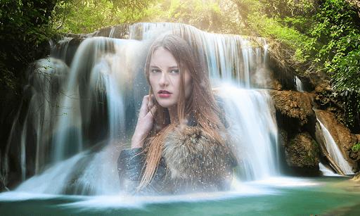 Waterfall Photo Frame & Waterfall Photo Editor apktram screenshots 4