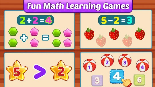 Free Math Kids – Add, Subtract, Count, and Learn 5
