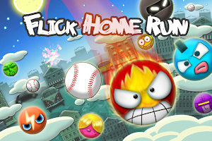 Flick Home Run! baseball game