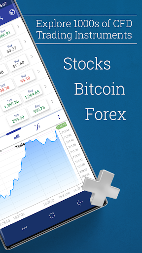 Plus500: CFD Online Trading on Forex and Stocks  Paidproapk.com 2