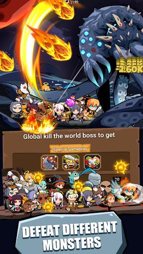 Tap Dungeon Hero:Idle Infinity RPG Game apktram screenshots 23