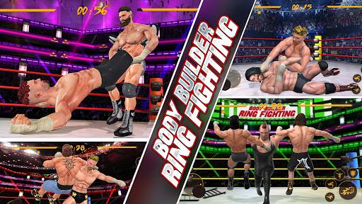 BodyBuilder Ring Fighting Club: Wrestling Games apkdebit screenshots 3