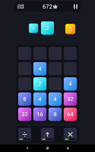 2048: Drop And Merge 1.3 screenshots 6