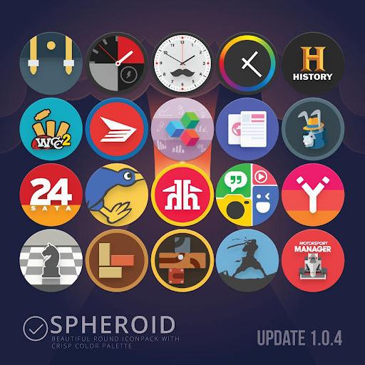 Spheroid Icon screenshots 5