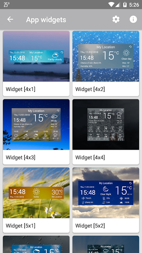 Weather u2014 Live Weather Forecast & Weather Widget  screenshots 3