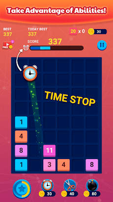 Merge Block: Fun Number Puzzleのおすすめ画像4