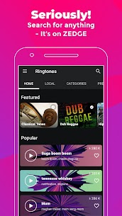 ZEDGE™ Wallpapers & Ringtones MOD APK (Unlimited Credits) 4