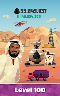 Oil Tycoon: Gas Idle Factory MOD APK 4.1.8 (Unlimited Money) 6