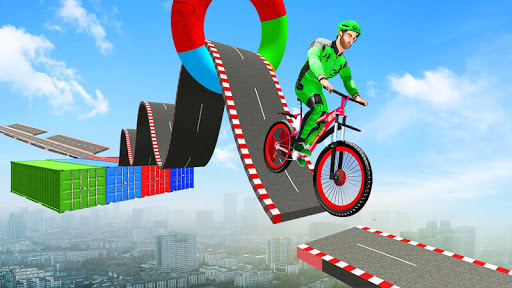 Fearless BMX Rider Games: Impossible Bicycle Stunt apktram screenshots 1