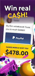 GAMEE Prizes - Play Free Games, WIN REAL CASH! 4.10.14 screenshots 1