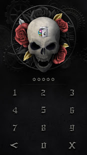 AppLock Theme Death Skeleton