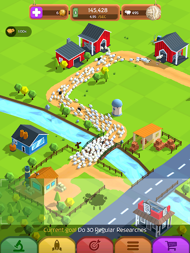 Tiny Sheep Tycoon Games u2013 Idle Wool apkpoly screenshots 12