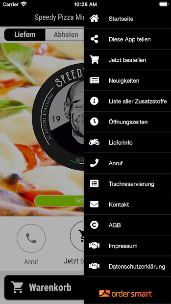 Speedy Pizza Minden screenshot 2