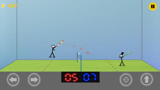 Stickman Badminton:Passion League Game  screenshots 9