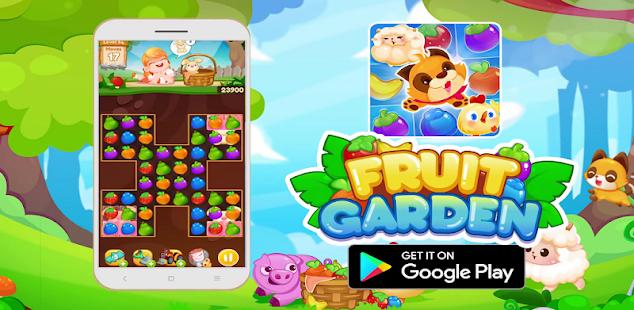 fruit garden: match 3 funny farm hack