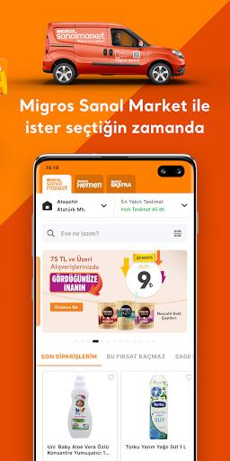 Migros Sanal Market Apkfinish screenshots 4