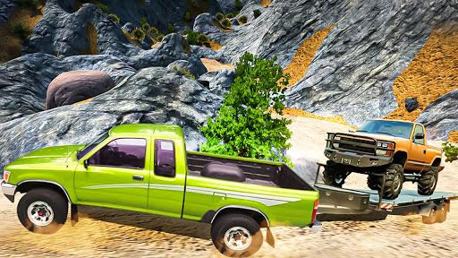 Off-Road Pickup Truck Hill Driving Simulator 2021  screenshots 2