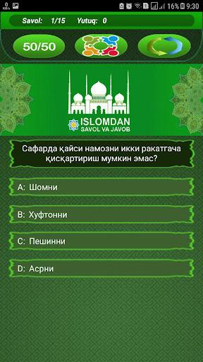 Islomdan Savol va Javob 9.6 screenshots 4