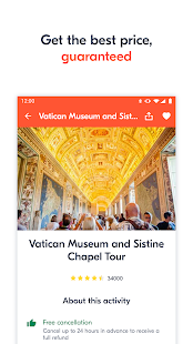 GetYourGuide: Activity tickets & sightseeing tours 3.82.0 Screenshots 3