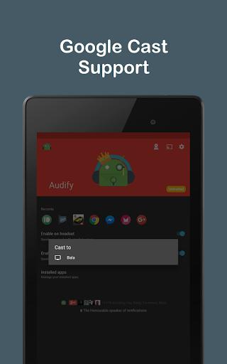 Audify Notifications Reader 3.5.0 Screenshots 3