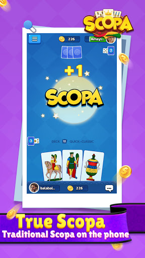 Scopa:Italian Card Game online 1.1.9.0 screenshots 3