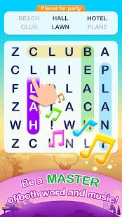 Word Search Pop - Free Fun Find & Link Brain Games 3.1.9 screenshots 2