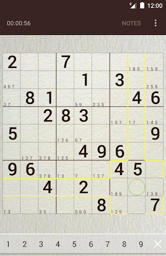 Sudoku (Oh no! Another one!) screenshots 1
