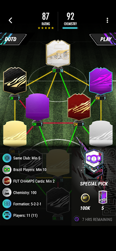 MAD FUT 21 Draft & Pack Opener 1.0.9 screenshots 4