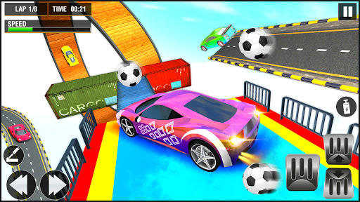 Crazy Stunts Car Driving: Extreme GT Car Racing modiapk screenshots 1
