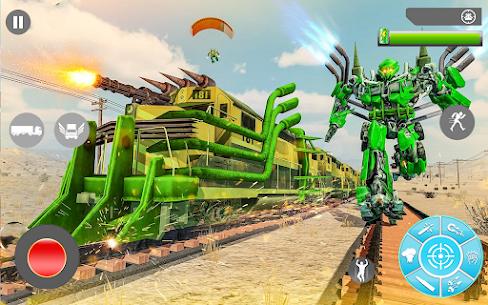 Süper Tren robot dönüşümü: Büyük robot oyunu 3