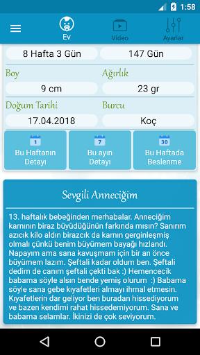 Hamilelik Takibi HAM.TAK.v.17 Screenshots 2