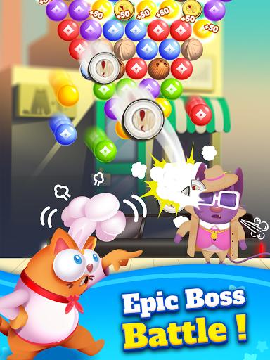 Kitten Games - Bubble Shooter Cooking Game apkmr screenshots 15