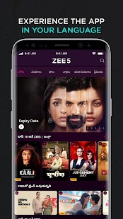 ZEE5: Movies, TV Shows, Web Series Screenshot