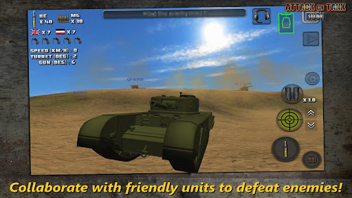Attack on Tank : Rush - World War 2 Heroes 3.5.0 screenshots 8