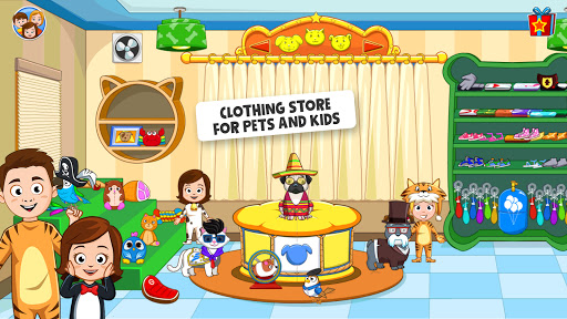My Town : Pets, Animal game for kids android2mod screenshots 7