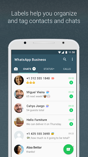 WhatsApp Business 2.21.4.12 screenshots 3