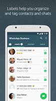 screenshot of WhatsApp Business