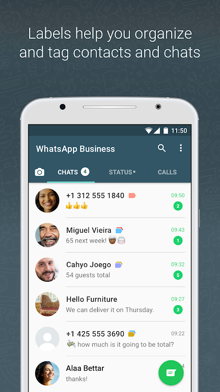 WhatsApp Business  poster 2