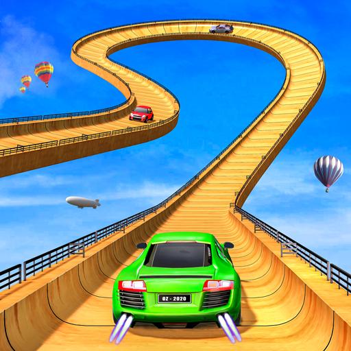 GT Racing Ramp Car Stunts: Free stunt Car Games