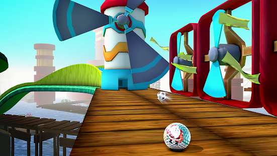Mini Golf 3D City Stars Arcade - Multiplayer Rival Screenshot