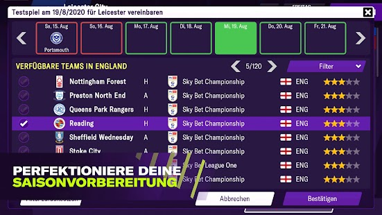 Football Manager 2021 Mobile Capture d'écran